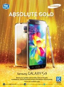 Samsung-S5-Gold